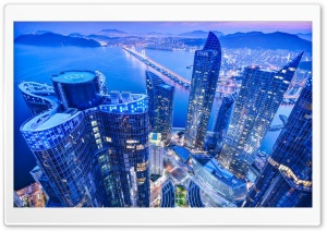Busan South Korea Ultra HD Wallpaper for 4K UHD Widescreen desktop, tablet & smartphone