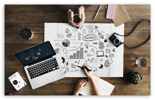 Business Plan Ultra Hd Desktop Background Wallpaper For 4k
