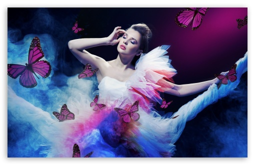 Butterflies And Girl HD wallpaper for Wide 16:10 5:3 Widescreen WHXGA WQXGA WUXGA WXGA WGA ; HD 16:9 High Definition WQHD QWXGA 1080p 900p 720p QHD nHD ; Standard 4:3 5:4 3:2 Fullscreen UXGA XGA SVGA QSXGA SXGA DVGA HVGA HQVGA devices ( Apple PowerBook G4 iPhone 4 3G 3GS iPod Touch ) ; iPad 1/2/Mini ; Mobile 4:3 5:3 3:2 16:9 5:4 - UXGA XGA SVGA WGA DVGA HVGA HQVGA devices ( Apple PowerBook G4 iPhone 4 3G 3GS iPod Touch ) WQHD QWXGA 1080p 900p 720p QHD nHD QSXGA SXGA ;