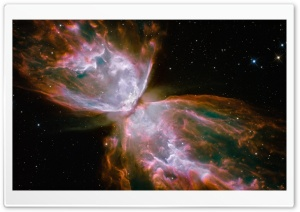 Butterfly Nebula HD Wide Wallpaper for Widescreen