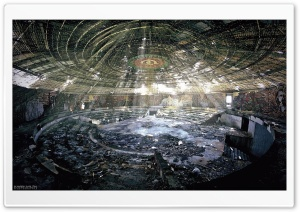 Buzludzha Dome HD Wide Wallpaper for Widescreen
