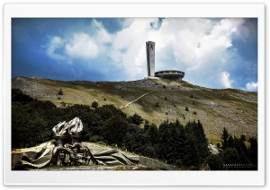 Buzludzha Monument HD Wide Wallpaper for Widescreen