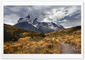 by The Horn, Chile, Torre Del Paine National Park, Cuernos Del Paine HD Wide Wallpaper for Widescreen