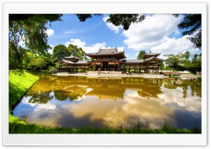 Byodo-In Temple HD Wide Wallpaper for 4K UHD Widescreen desktop & smartphone