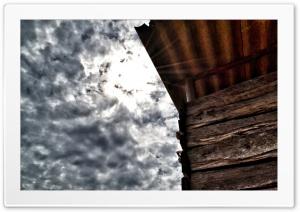 Cabin under the clouds Ultra HD Wallpaper for 4K UHD Widescreen desktop, tablet & smartphone