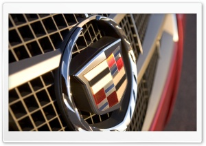 Cadillac Badge HD Wide Wallpaper for Widescreen