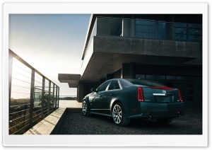 Cadillac CTS HD Wide Wallpaper for Widescreen