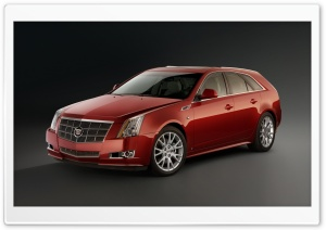 Cadillac CTS 2.9D HD Wide Wallpaper for Widescreen