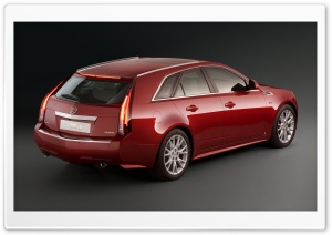Cadillac CTS 2.9D Car HD Wide Wallpaper for Widescreen