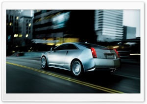 Cadillac CTS Coupe HD Wide Wallpaper for Widescreen