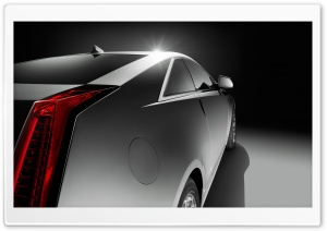 Cadillac CTS Coupe Side HD Wide Wallpaper for Widescreen