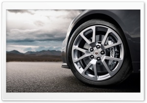 Cadillac CTS Wheel HD Wide Wallpaper for Widescreen
