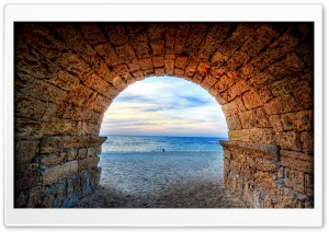 Caesarea, Israel HD Wide Wallpaper for Widescreen