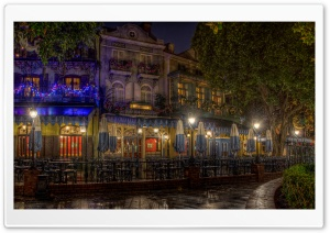 Cafe Orleans HD Wide Wallpaper for Widescreen