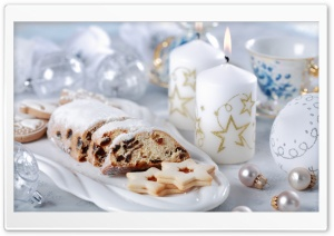 Cake And Candles HD Wide Wallpaper for Widescreen