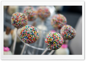 Cake Pops HD Wide Wallpaper for 4K UHD Widescreen desktop & smartphone