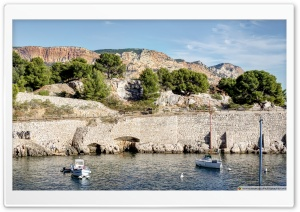 Calanque de Port-Miou France HD Wide Wallpaper for 4K UHD Widescreen desktop & smartphone