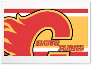 Calgary Flames HD Wide Wallpaper for Widescreen