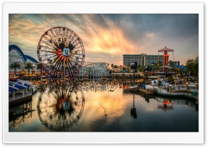 California Adventure HD Wide Wallpaper for 4K UHD Widescreen desktop & smartphone