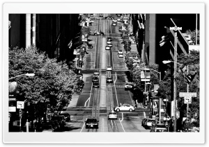 California Street HD Wide Wallpaper for Widescreen