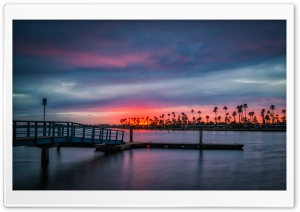 California Sunset Ultra HD Wallpaper for 4K UHD Widescreen desktop, tablet & smartphone