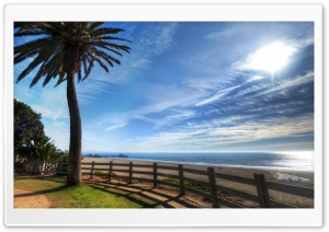 Californian Beach HD Wide Wallpaper for Widescreen