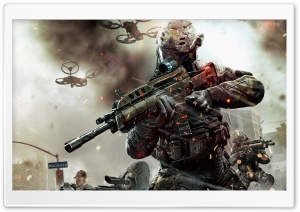 Call of Duty Black Ops 2 Game 2013 HD Wide Wallpaper for Widescreen
