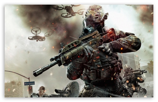 Download Call of Duty Black Ops 2 Game 2013 UltraHD Wallpaper