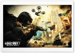 Call of Duty Black Ops 2 II HD Wide Wallpaper for Widescreen