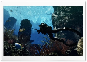 Call Of Duty Ghosts - Deep Underwater HD Wide Wallpaper for Widescreen