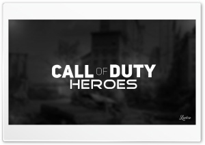 Call of Duty Heroes HD Wide Wallpaper for 4K UHD Widescreen desktop & smartphone