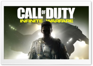 Call Of Duty Infinite Warfare Keyart HD Wide Wallpaper for Widescreen