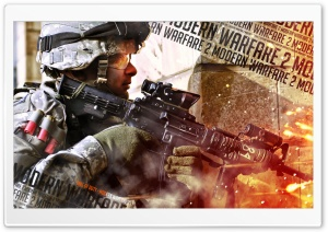 Call Of Duty Modern Warfare 2 HD Wide Wallpaper for 4K UHD Widescreen desktop & smartphone