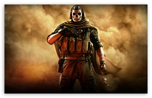 Download Call of Duty Modern Warfare 2019 Ghost UltraHD Wallpaper