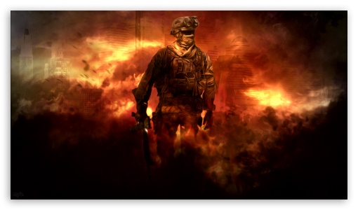 Call of Duty Modern Warfare 2 HD HD wallpaper for HD 16:9 High Definition WQHD QWXGA 1080p 900p 720p QHD nHD ; Tablet 1:1 ; iPad 1/2/Mini ; Mobile 4:3 5:3 3:2 16:9 - UXGA XGA SVGA WGA DVGA HVGA HQVGA devices ( Apple PowerBook G4 iPhone 4 3G 3GS iPod Touch ) WQHD QWXGA 1080p 900p 720p QHD nHD ;