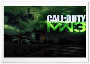 Call Of Duty MW3 HD Wide Wallpaper for 4K UHD Widescreen desktop & smartphone