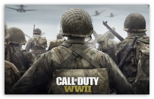Download Call of Duty WWII 2017 Game UltraHD Wallpaper