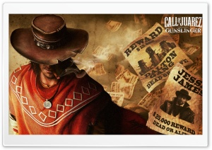 Call of Juarez Gunslinger HD Wide Wallpaper for 4K UHD Widescreen desktop & smartphone