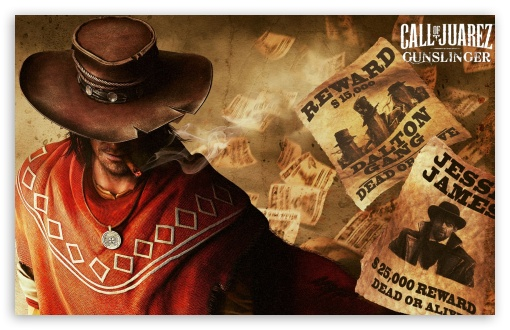 Call of Juarez Gunslinger 4K HD Desktop Wallpaper for 4K ...