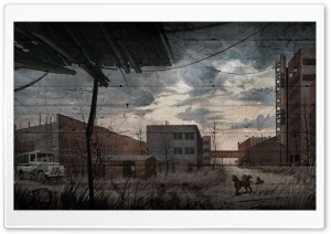 Call Of Pripyat Art Drawing HD Wide Wallpaper for 4K UHD Widescreen desktop & smartphone