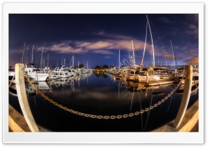 Calm Harbor HD Wide Wallpaper for 4K UHD Widescreen desktop & smartphone