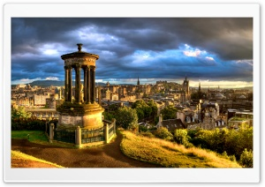 Calton Hill Edinburgh HD Wide Wallpaper for Widescreen