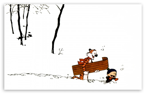 Calvin And Hobbes, Winter HD wallpaper for Wide 16:10 5:3 Widescreen WHXGA WQXGA WUXGA WXGA WGA ; HD 16:9 High Definition WQHD QWXGA 1080p 900p 720p QHD nHD ; Standard 4:3 5:4 3:2 Fullscreen UXGA XGA SVGA QSXGA SXGA DVGA HVGA HQVGA devices ( Apple PowerBook G4 iPhone 4 3G 3GS iPod Touch ) ; Tablet 1:1 ; iPad 1/2/Mini ; Mobile 4:3 5:3 3:2 16:9 5:4 - UXGA XGA SVGA WGA DVGA HVGA HQVGA devices ( Apple PowerBook G4 iPhone 4 3G 3GS iPod Touch ) WQHD QWXGA 1080p 900p 720p QHD nHD QSXGA SXGA ;