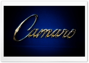 Camaro Emblem HD Wide Wallpaper for Widescreen