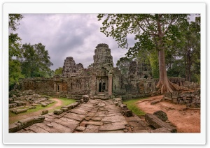 Cambodia Temple HD Wide Wallpaper for Widescreen
