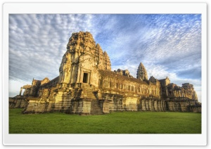 Cambodian Temple HD Wide Wallpaper for Widescreen