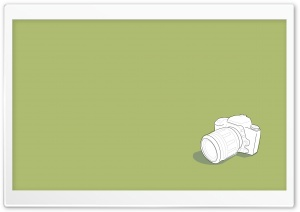 Camera Vector Art HD Wide Wallpaper for Widescreen