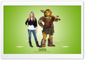 Cameron Diaz as Princess Fiona, Shrek Forever After HD Wide Wallpaper for Widescreen