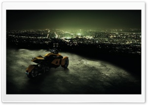 Can-Am Spyder HD Wide Wallpaper for Widescreen