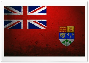 Canadian Red Ensign HD Wide Wallpaper for Widescreen